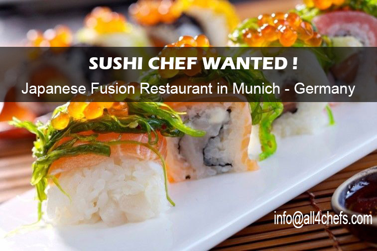 Sushi chef jobs in munich germany for Asian fusion cuisine restaurants