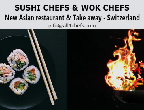 Sushi Chefs & Wok Chefs -Asian Cuisine Restaurant Chain- Switzerland