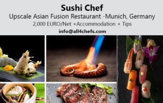 sushi chef-asian fusion cuisine-munich by All4Chefs