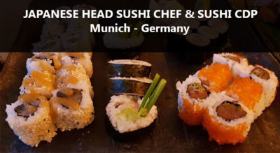 Japanese Head Chef and Japanese Sushi Chef job-Munich