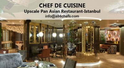 Pan Asian Head Chef