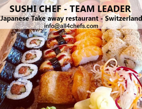 Sushi chef Team leader , Winterthur, Switzerland